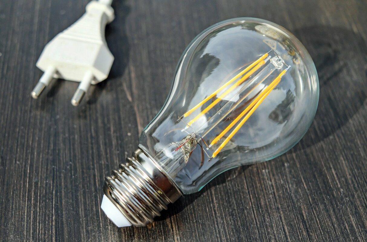 light bulb, energy, light