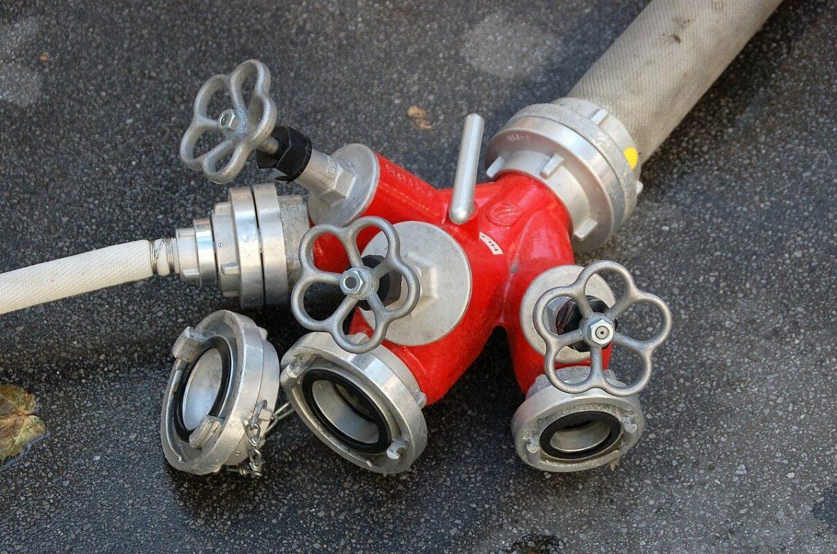 dortmund, fire, fire hose